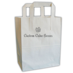 Paper Bags With Flat Handles